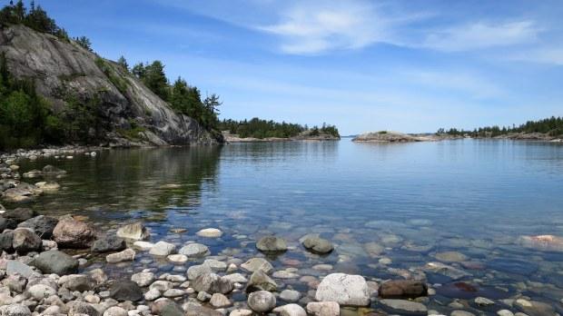 Sinclair Cove, Lake Superior Provincial Park, Ontario, Canada