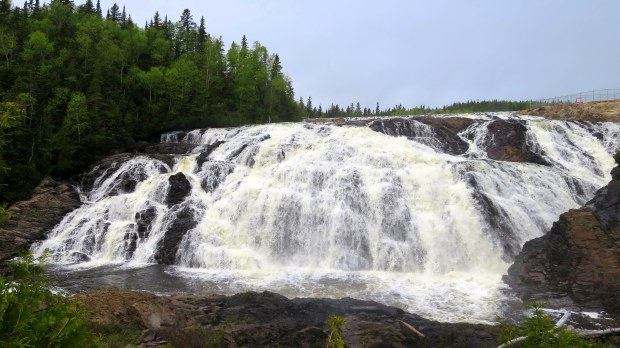 High Falls, Magpie River, Ontario, Canada