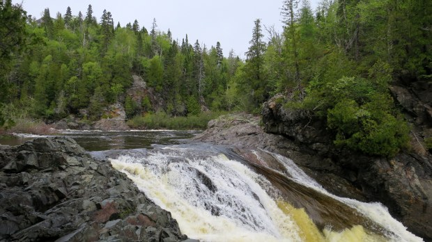 Middle Silver Falls, Magpie River, Ontario, Canada