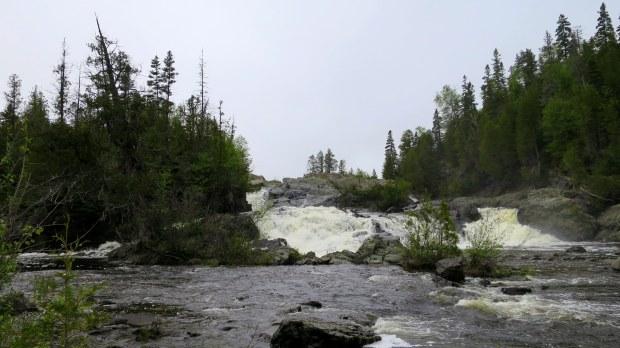 Upper Silver Falls, Magpie River, Ontario, Canada