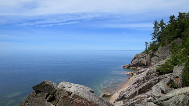 Agawa Rocks Pictograph Trail, Lake Superior Provincial Park, Ontario, Canada