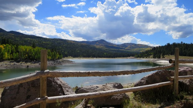 Walk on the first day of autumn, Yankee Meadows Reservoir, Dixie National Forest, Utah