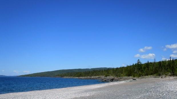 Trailhead, Casque Isles Trail, Schreiber, Ontario, Canada
