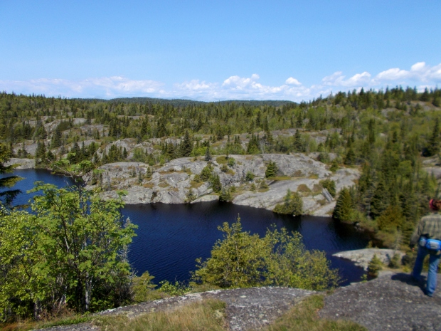 Me at Halfway Lake, Pukaskwa National Park, Ontario, Canada