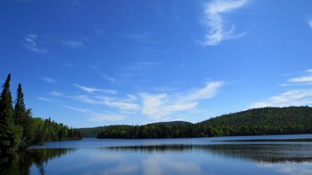 Whitesand Lake, Rainbow Falls Trail, Rainbow Falls Provincial Park, Ontario, Canada