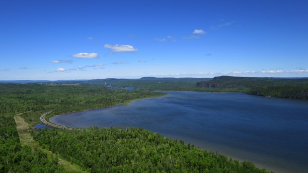 Eagle's Ridge lookout, Nipigon River Trail, Ontario