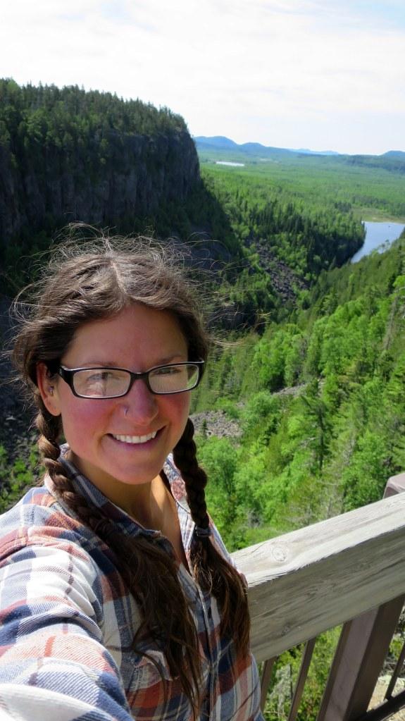Me, Ouimet Canyon Provincial Park, Ontario