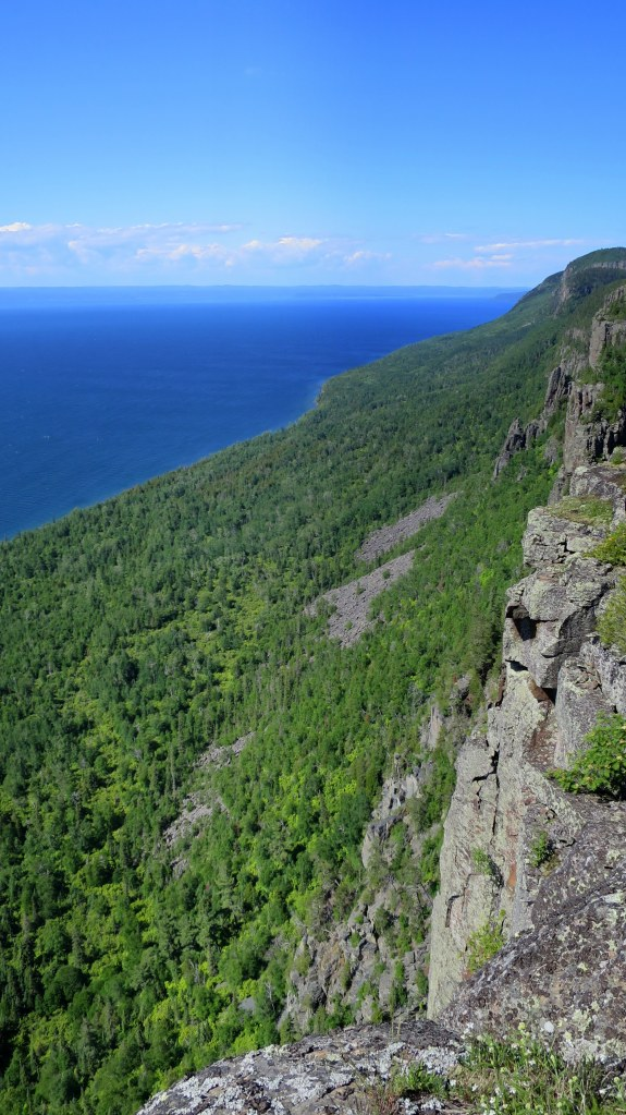 Top of the Giant Trail, Sleeping Giant Provincial Park, Ontario, Canada