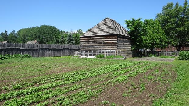 Garden, Fort William Historical Park, Ontario, Canada