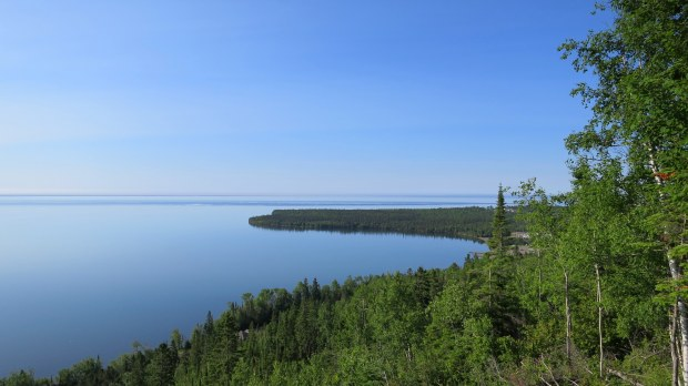 Grand Portage Bay from Mount Rose Trail, Grand Portage National Monument, Minnesota