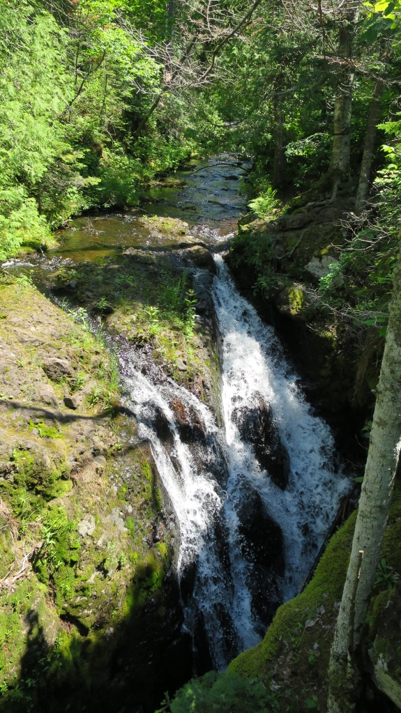 Manganese Falls, Copper Harbor, Michigan