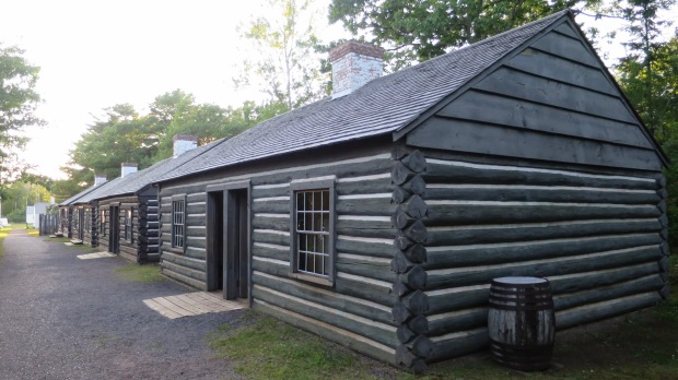 Married enlisted quarters, Fort Wilkins State Park, Michigan