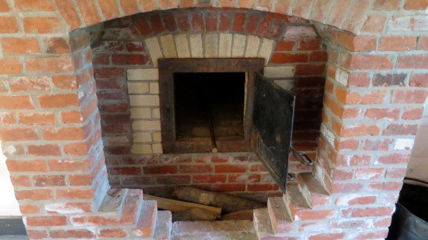 Oven in the bake house, Fort Wilkins State Park, Michigan