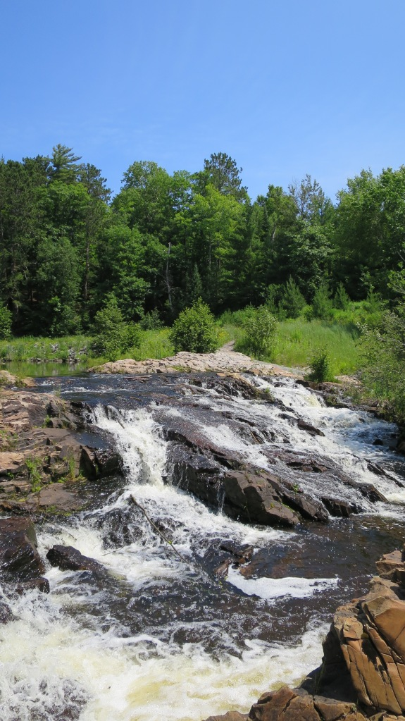 Waterfall that I completely forgot the name of, Marquette, Michigan