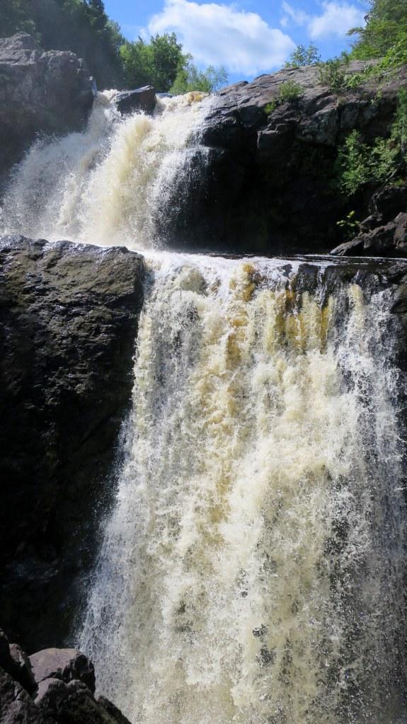 Bakers Falls, Wakefield, Michigan