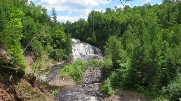 Lower Potato Falls, Wisconsin