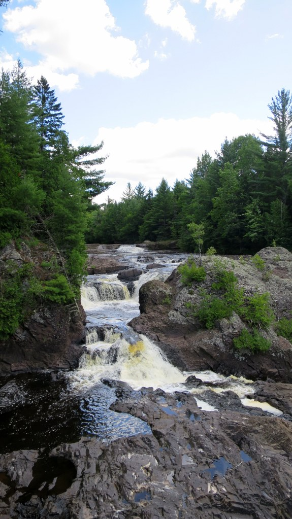 Upper Potato Falls, Wisconsin