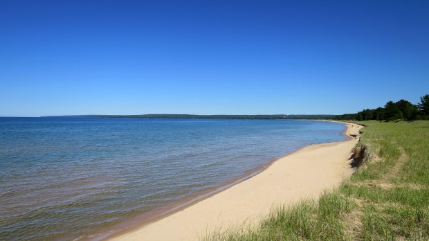 Lake Superior Beach off Route 28, Michigan