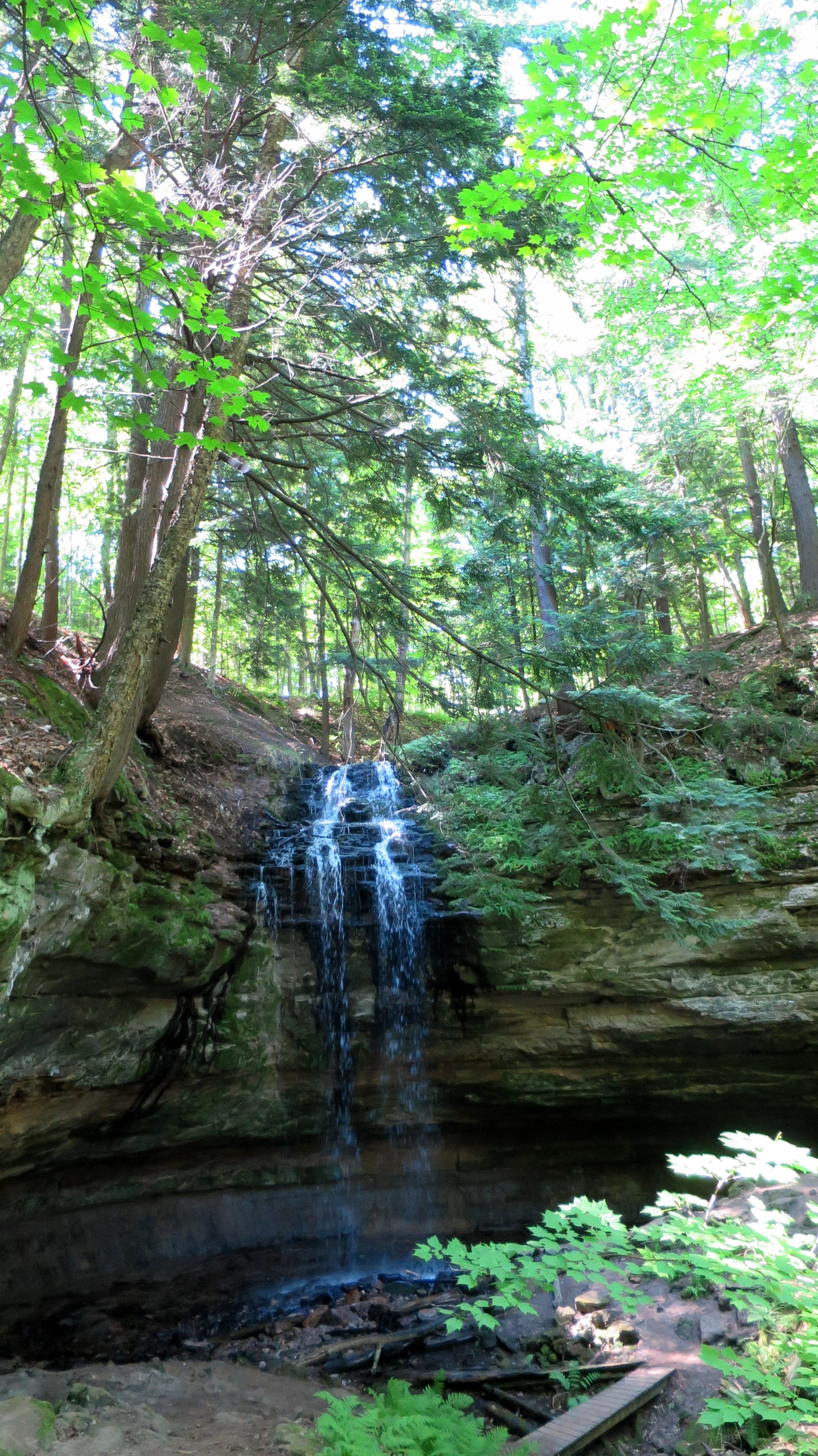 Swimming And Waterfall Hiking In Munising Michigan Another Walk