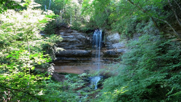 Munising Falls, Pictured Rocks National Lakeshore, Michigan