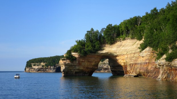 Arch at Pictured Rocks National Lakeshore, Michigan