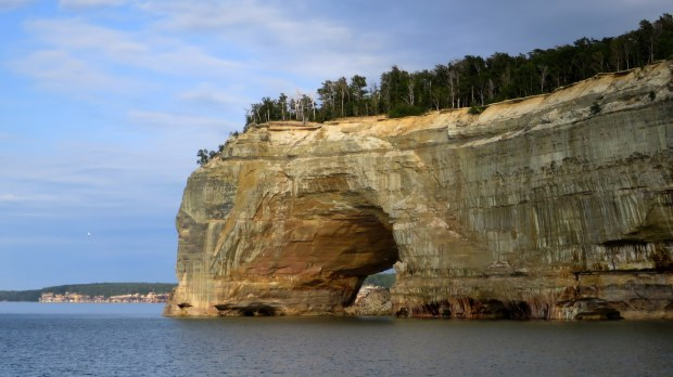 Another arch, Pictured Rocks National Lakeshore, Michigan