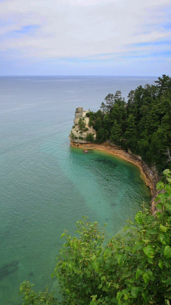 Near Miner's Castle, Pictured Rocks National Lakeshore, Michigan