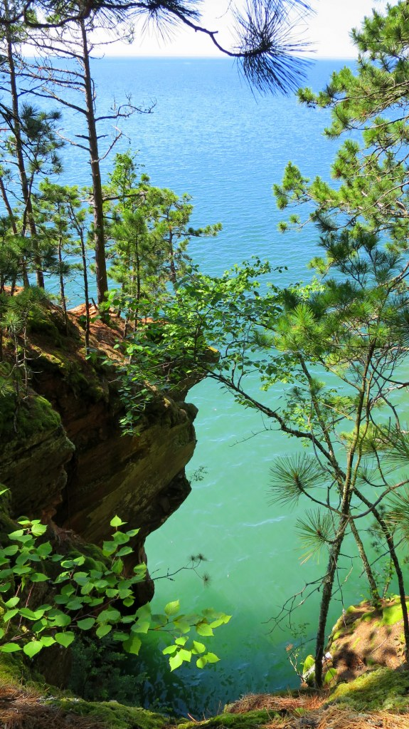 Lakeshore Trail, Apostle Islands National Lakeshore, Wisconsin