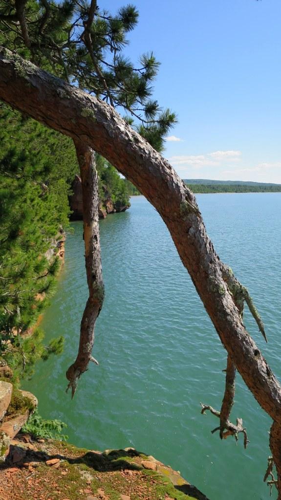 Lakeshore Trail, Apostle Islands National Lakeshore, Wisconsin