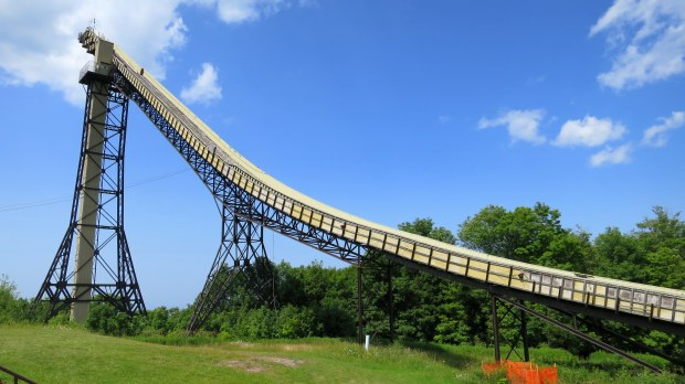 Ski flying jump, Copper Peak Ski Flying Hill, Michigan