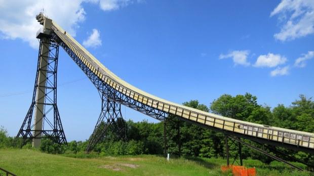Ski flying jump, Copper Peak Ski Flying Hill, Michigan