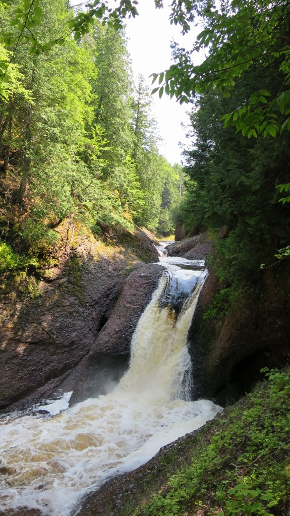 Gorge Falls, Ottawa National Forest, Michigan