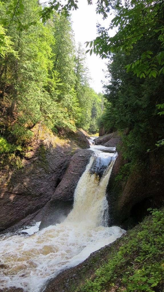 Gorge Falls, Ottawa National Forest, Michigan