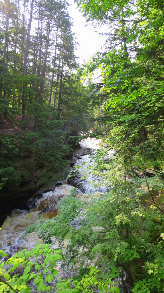 Presque Isle River, Porcupine Mountains Wilderness State Park, Michigan