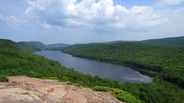 Lake of the Clouds, Porcupine Mountains Wilderness State Park, Michigan