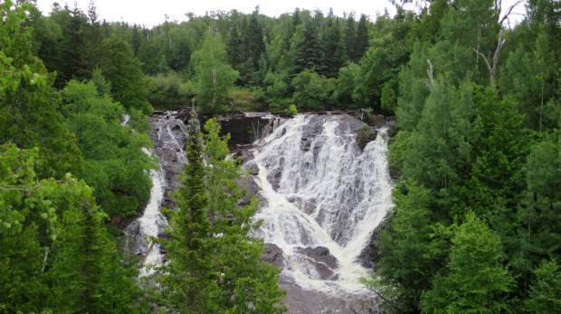 Eagle River Falls, Eagle River, Michigan