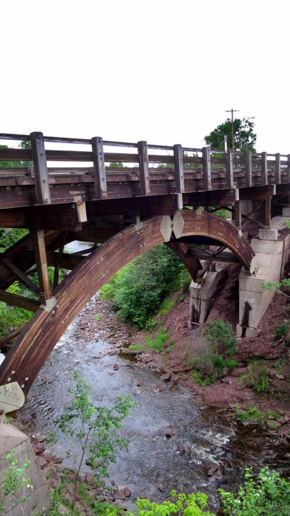 Lake Shore Drive Bridge, Eagle River, Michigan