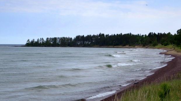 Beach stop, Keweenaw Peninsula, Michigan