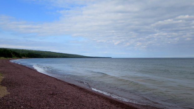 Beach stop, Keweenaw Peninsula, Michigan