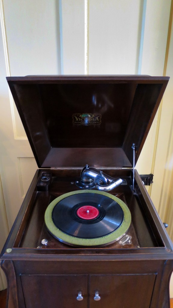 Victrola in Eagle Harbor Lighthouse, Michigan