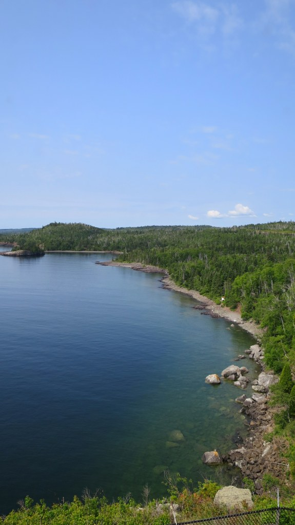 View from lighthouse, Split Rock Lighthouse State Park, Minnesota
