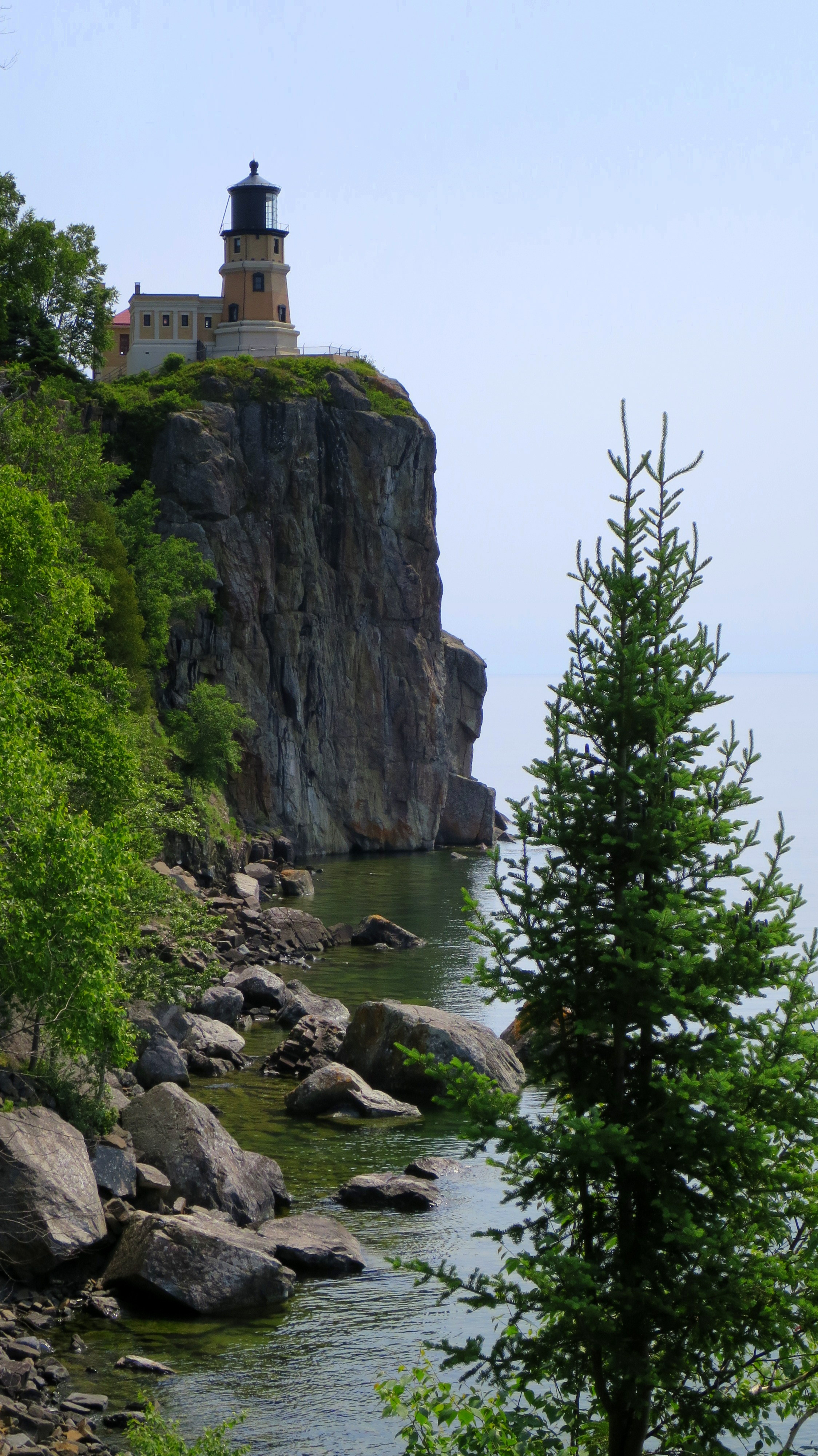 split rock lighthouse state park the briefest possible stop at
