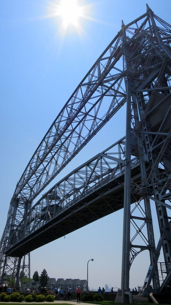 Aerial lift bridge, Canal Park, Duluth, Minnesota