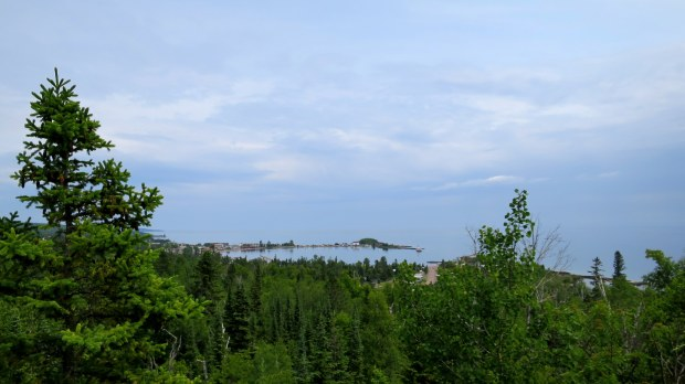 Overlook Loop Trail, Sweethearts Bluff Nature Area, Grand Marais, Minnesota