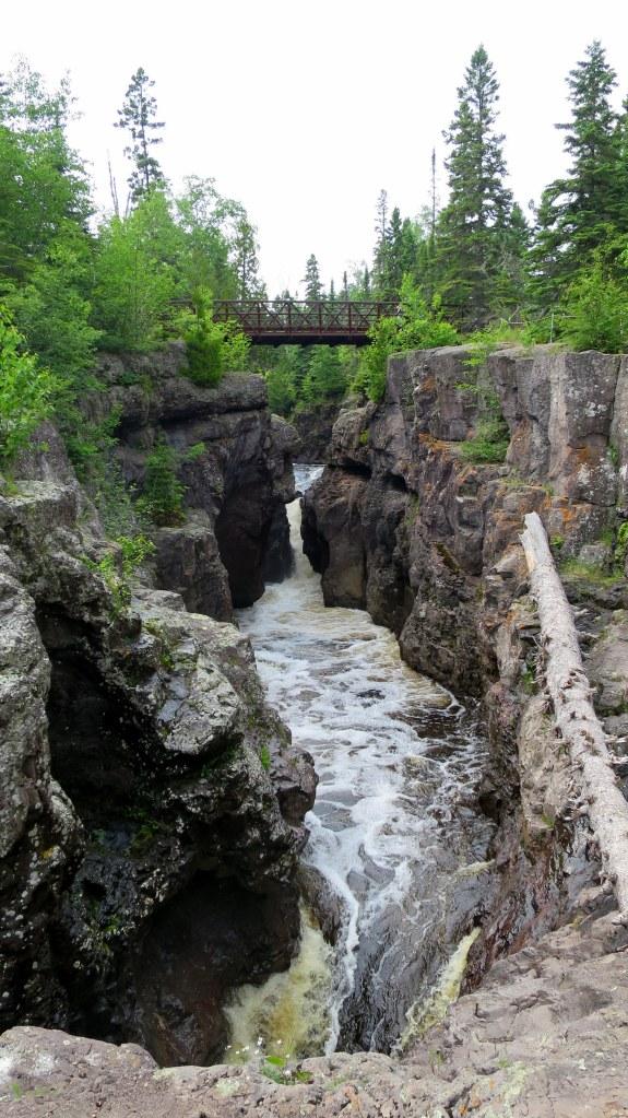 Temperance River Gorge Trail, Temperance River State Park, Minnesota