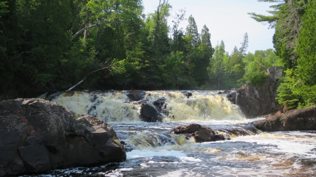 Two Step Falls, Tettegouche State Park, Minnesota