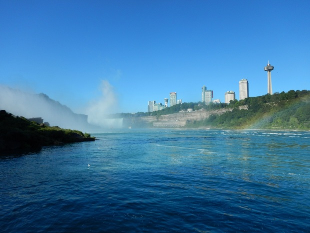 View from the dock, Maid of the Mist, Niagara Falls