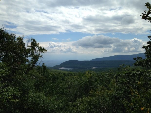 First viewpoint, North Mountain Trail, Catskills, New York