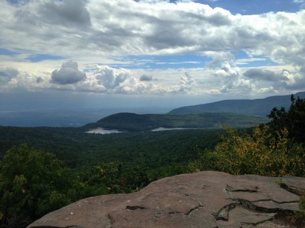 Overlook on North Mountain Trail, Catskills, New York