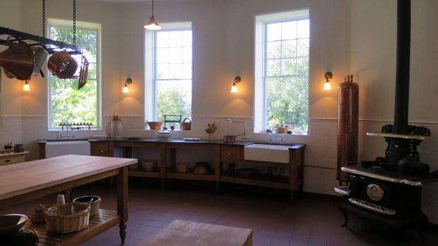 Kitchen, Boldt Castle, Thousand Islands Region, New York